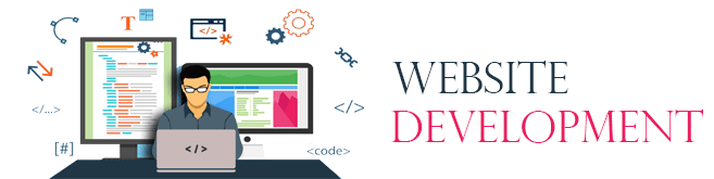 website development banner